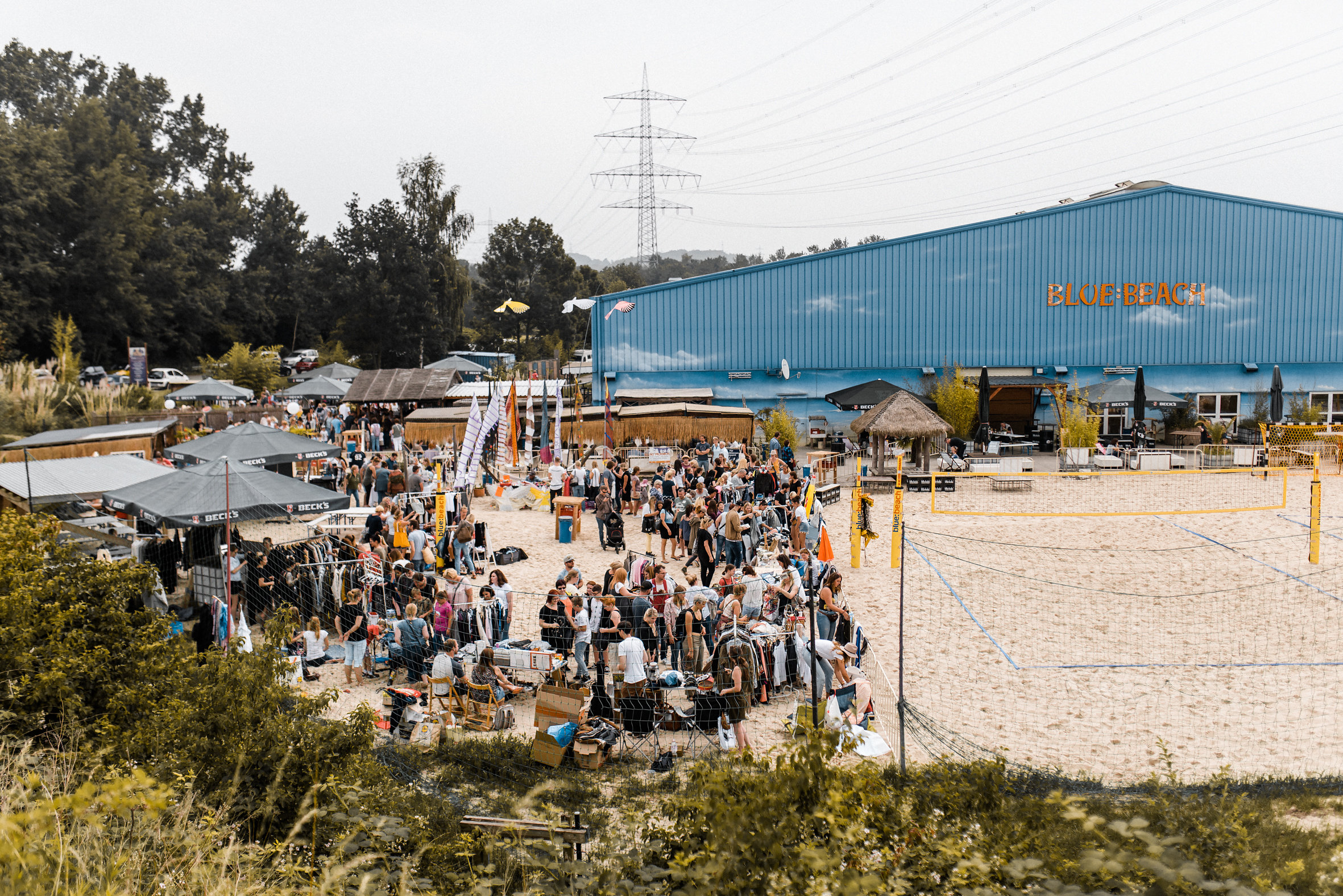 Der Flohmarkt am blue:beach in Witten